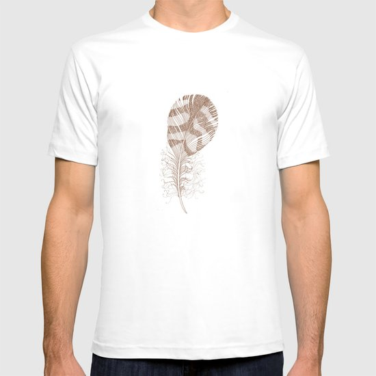 The Solitary Feather T-shirt