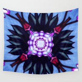 Kaleidoflower 2 Wall Tapestry