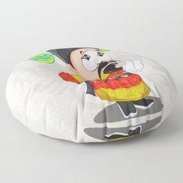 Beijing Opera Character TangQIN Floor Pillow