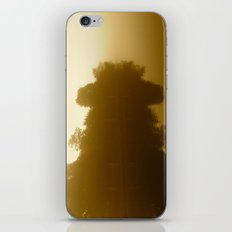 foggy reflections in sepia iPhone & iPod Skin