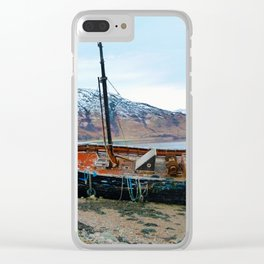Shipwreck Clear iPhone Case