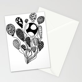 Balloon Design  Stationery Cards