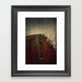 The Bleeding House Framed Art Print