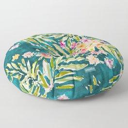 NUEVO VALLARTA Tropical Floral Floor Pillow