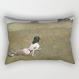 Christina's World - Andrew Wyeth Rectangular Pillow
