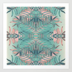 JUNGLE BOHO VIBES Art Print