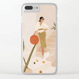 Wonders of the New Day Clear iPhone Case