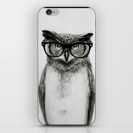 Mr. Owl iPhone Skin