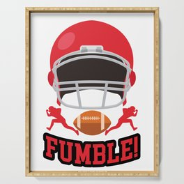 Fumble! Serving Tray