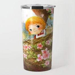 A Spring Scene Travel Mug