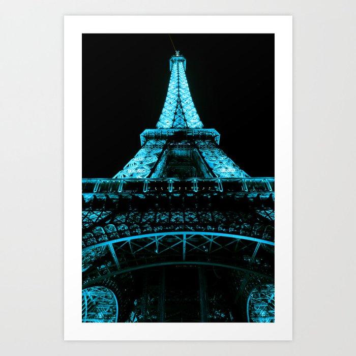 Paris Eiffel Tower Kunstdrucke