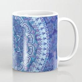 Blue Purple Mandala Coffee Mug