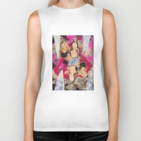 britney Biker Tanks featuring Britney by GREATeclectic