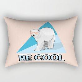 Be Cool Polar Bear Rectangular Pillow