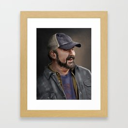 Bobby Singer Framed Art Print