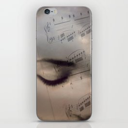 Music girl iPhone Skin