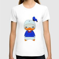 donald duck T-shirts featuring A Boy - Donald Duck by Christophe Chiozzi
