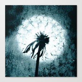 Dandelion Art 6 Canvas Print