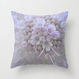 Une Fleur parmi les Fleurs Throw Pillow
