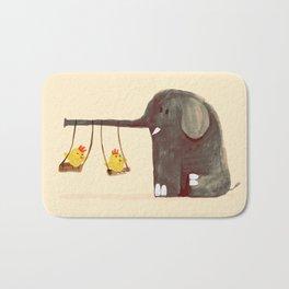 Elephant Swing Bath Mat