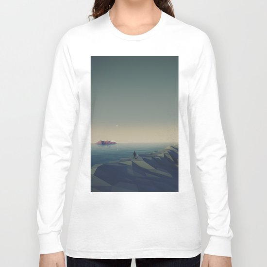 Trapped in low-poly Long Sleeve T-shirt