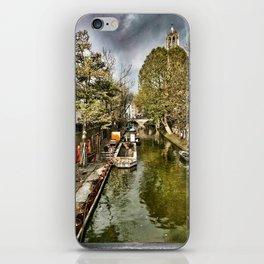 Utrecht Canal iPhone Skin