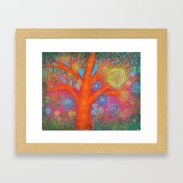 The Orange Tree Framed Art Print