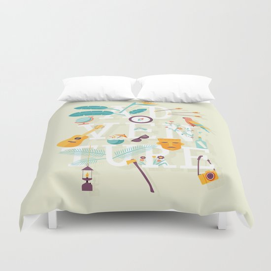 Adventure  Duvet Cover