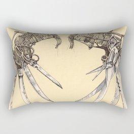 Scissorhands(Antique) Rectangular Pillow
