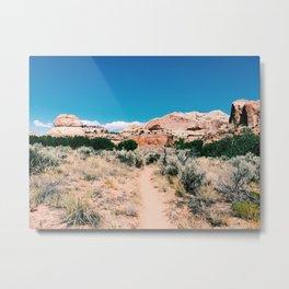 Utah somewhere Metal Print