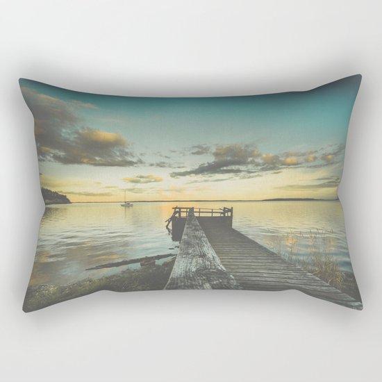 Dating Alice in wonderland Rectangular Pillow
