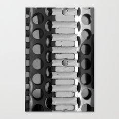 Rails of War Canvas Print