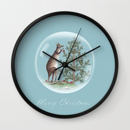 Christmas in Australia Wall Clock