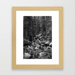 Mountain Creeks Framed Art Print