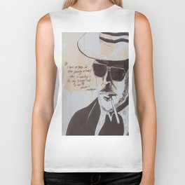 Hunter S. Thompson Biker Tank