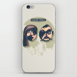 country couple iPhone Skin