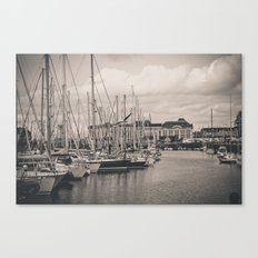 Casino at the harbor Canvas Print