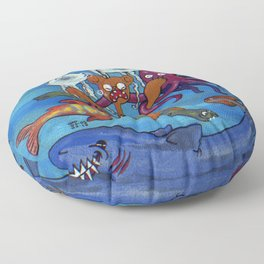 Out of reality. Floor Pillow