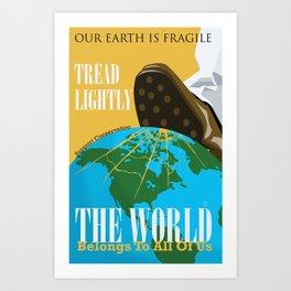 Conservation Propaganda Art Print
