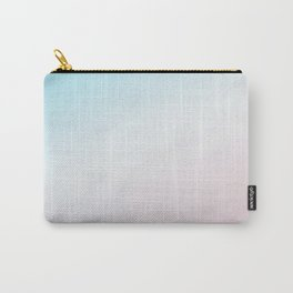 Modern Abstract Pink Blue Carry-All Pouch