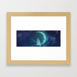 Moonowl Framed Art Print
