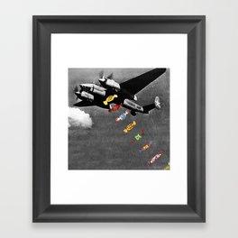 Candy Bomber Framed Art Print
