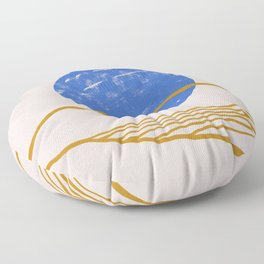 New moon design Floor Pillow