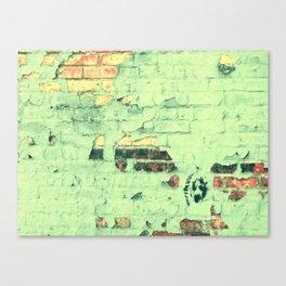 Like a ton of bricks Canvas Print