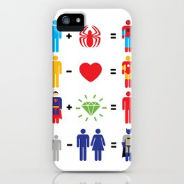 Super Math iPhone Case