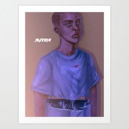 BlindEye Art Print