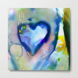 Heart Dreams 4B by Kathy Morton Stanion Metal Print