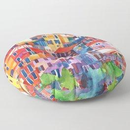 Cinque Terre vol2 Floor Pillow