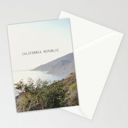 california republic Stationery Cards