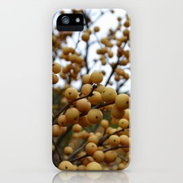 Goldenberries iPhone Case